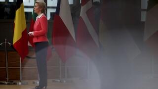 Σύνοδος Κορυφής: Αισιοδοξία για εξεύρεση λύσης εξέφρασε η Ούρσουλα Φον Ντερ Λάιεν