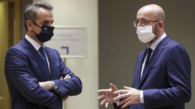 Σύνοδος Κορυφής: Επιμένει ο Μητσοτάκης στις θέσεις του για το Ταμείο Ανάκαμψης