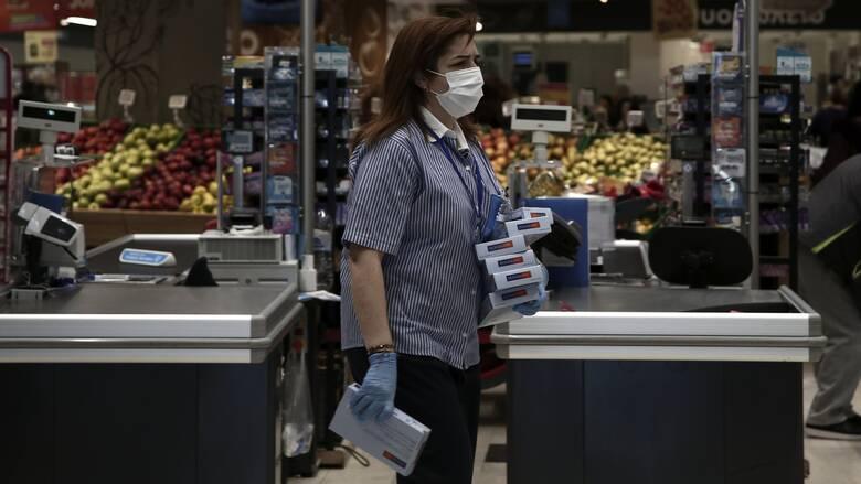 Υποχρεωτική η χρήση μάσκας στα σούπερ μάρκετ για όλους από το Σάββατο