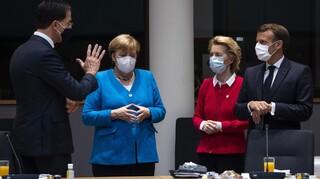 Σύνοδος Κορυφής EE: Αισιόδοξοι για συμφωνία Φον Ντερ Λάιεν, Μέρκελ και Μακρόν
