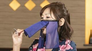 Ιαπωνία: Μάσκες - βέλο κατά του κορωνοϊού για σύγχρονες γκέισες (pics&vid)