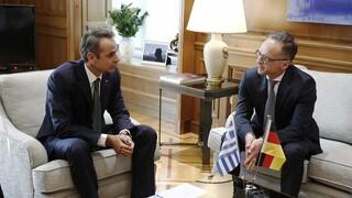 Μητσοτάκης σε Μάας: Μονόδρομος οι κυρώσεις της ΕΕ στην Τουρκία