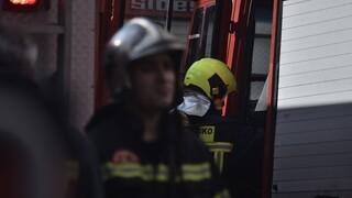 Μυτιλήνη: Συνεχίζονται οι προσπάθειες να ελεγχθεί το μέτωπο που καίει από χθες στα βουνά της Θέρμης