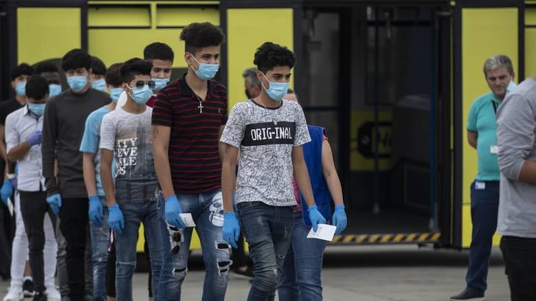 Αναχωρούν για τη Γερμανία 85 αιτούντες άσυλου