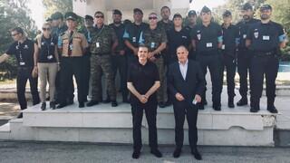 Στον Έβρο Χρυσοχοΐδης και εκτελεστικός διευθυντής της Frontex