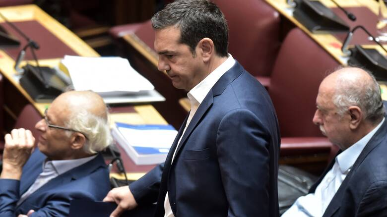 Αποχωρεί από την ψηφοφορία για τον Παπαγγελόπουλο ο ΣΥΡΙΖΑ - Δεν μιλά ο Τσίπρας