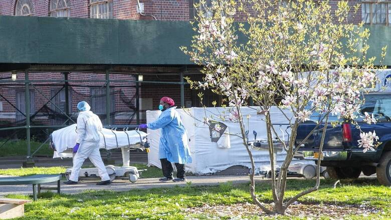 Κορωνοϊός: Πάνω από 1.000 νεκροί σε μια μέρα στις ΗΠΑ - Υποχρεωτική η μάσκα στην Ουάσιγκτον