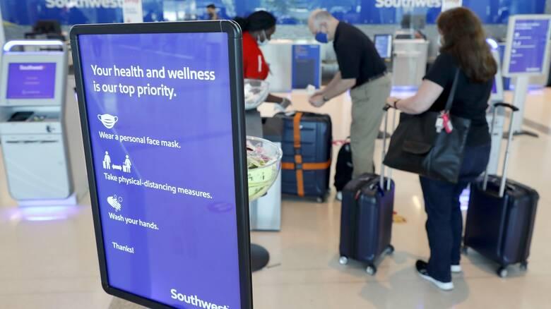 Κορωνοϊός: Ευρωπαϊκή συμφωνία για κοινά πρότυπα υγιεινής στα αεροπορικά ταξίδια