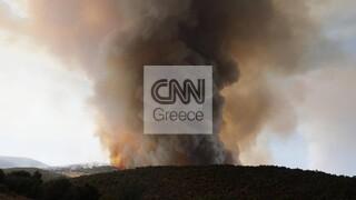 Φωτιά στις Κεχριές: Σε κατάσταση έκτακτης ανάγκης η ανατολική Κορινθία