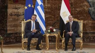 Τηλεφωνική επικοινωνία Μητσοτάκη - Αλ Σίσι για Ανατολική Μεσόγειο και Λιβύη