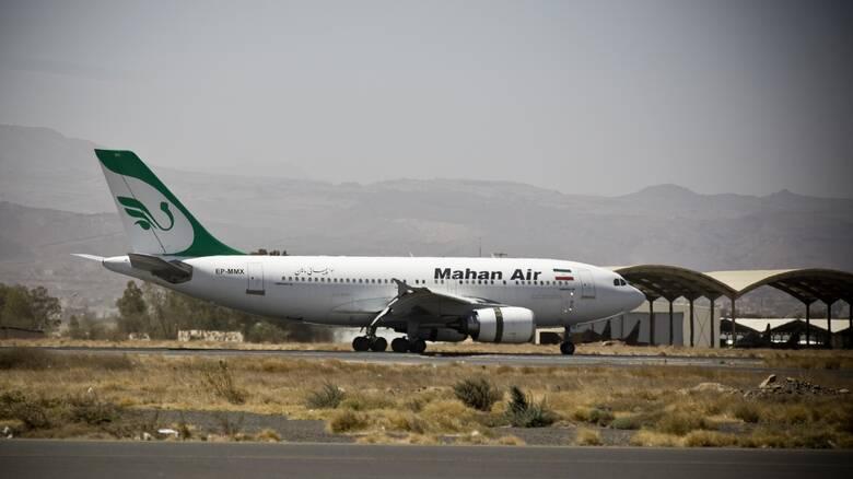 Επικίνδυνοι ελιγμοί ιρανικού επιβατικού αεροπλάνου λόγω μαχητικών αεροσκαφών