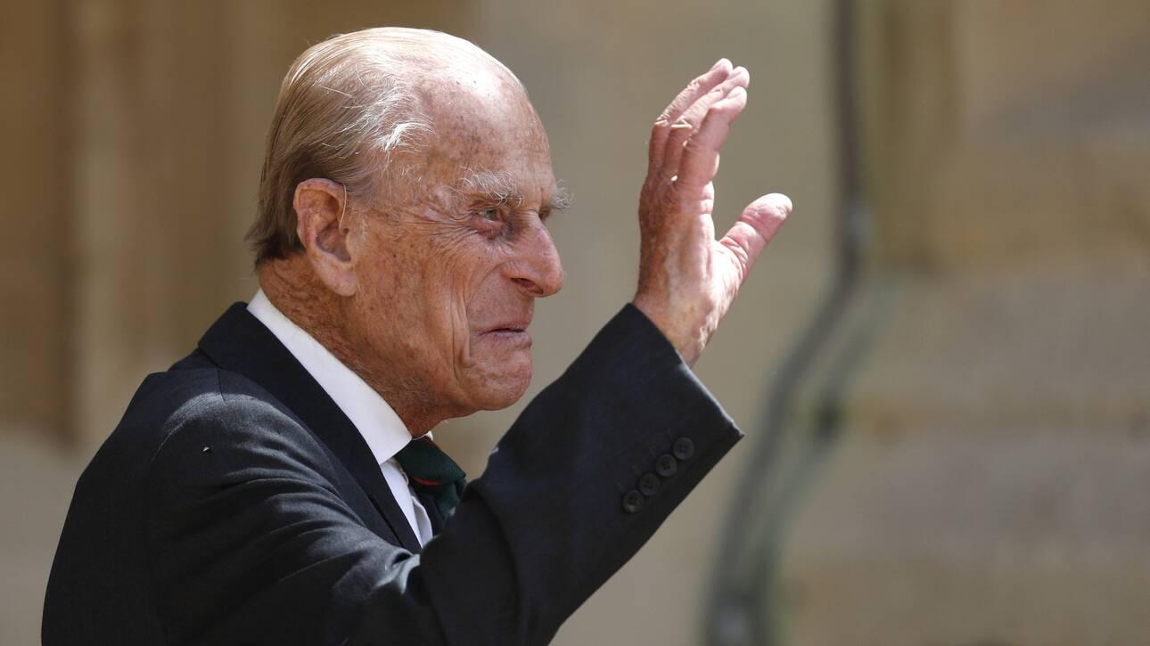 Πρίγκιπας Φίλιππος: Σπάνια δημόσια εμφάνιση στα 99 του χρόνια (vid)