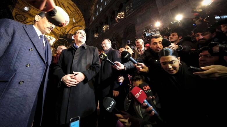 Τσίπρας για Αγία Σοφία: Καμία μετατροπή σε τέμενος δεν μπορεί να παραχαράξει την ιστορία της