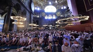 ΥΠΕΞ: Η Τουρκία παραβιάζει τις υποχρεώσεις της έναντι της UNESCO στην Αγία Σοφία