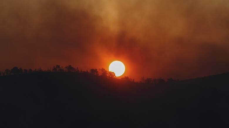 Φωτιά στις Κεχριές: Συναγερμός για τρίτο βράδυ - Συνεχείς αναζωπυρώσεις