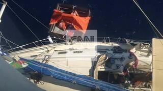 Πλοίο διέσωσε ιστιοπλοϊκό ανοιχτά της Κέας