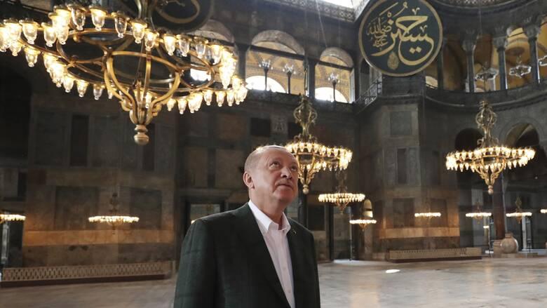 Ερντογάν: Κάποιοι δεν αποδέχονται ότι η Κωνσταντινούπολη είναι στα χέρια των μουσουλμάνων