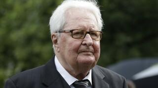 Πέθανε ο πρώην πρόεδρος του SPD, Χανς - Γιόχεν Φόγκελ