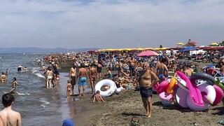 Κορωνοϊός - Ιταλία: Αυστηροί έλεγχοι - Ο στρατός στις παραλίες