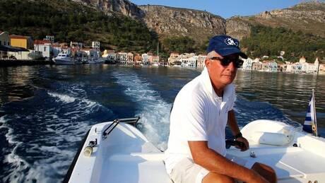Καστελόριζο: Με τον καπετάν Κώστα στην ελληνοτουρκική οριογραμμή