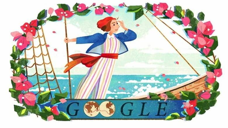 Jeanne Baret: Η Google τιμά με doodle την πρώτη γυναίκα που έκανε τον περίπλου της Γης