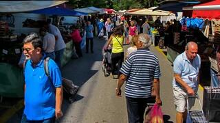 Κορωνοϊός: Οι νέοι κανόνες λειτουργίας για υπαίθριες αγορές και πανηγύρια