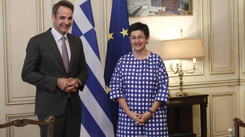 Για την κατάσταση στην Αν. Μεσόγειο συζήτησαν ο Μητσοτάκης με την Ισπανίδα ΥΠΕΞ