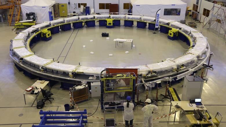 Γαλλία: Ξεκίνησε η συναρμολόγηση του γιγάντιου αντιδραστήρα του ITER