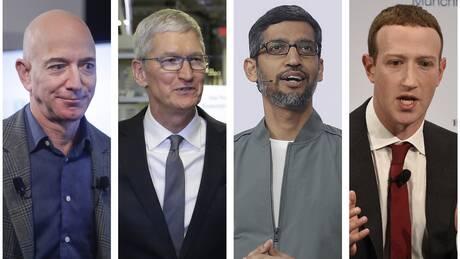 ΗΠΑ: Εξετάζονται στο Κογκρέσο οι επικεφαλής των διαδικτυακών κολοσσών