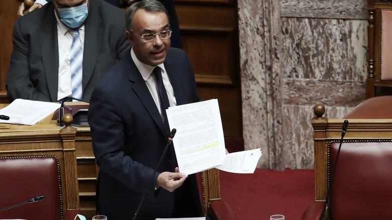 Σταϊκούρας στη Βουλή: Όλες οι αλλαγές στην ρύθμιση των οφειλών