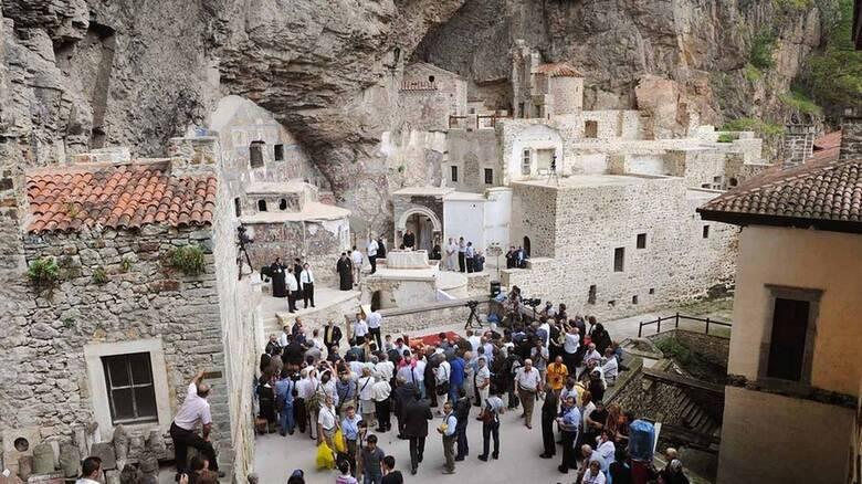 Παναγία Σουμελά: Άνοιξε τις πύλες της για το κοινό μετά από πέντε ...