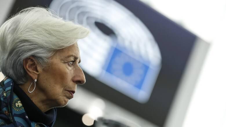 Λαγκάρντ: Η ΕΚΤ πρέπει να κρατήσει «δίχτυ ασφαλείας» για να τονωθεί η οικονομία της ΕΕ
