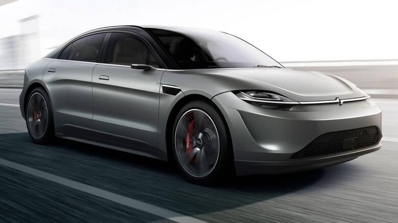 H Sony θα συνεχίσει την εξέλιξη του ηλεκτρικού της αυτοκινήτου Vision-S