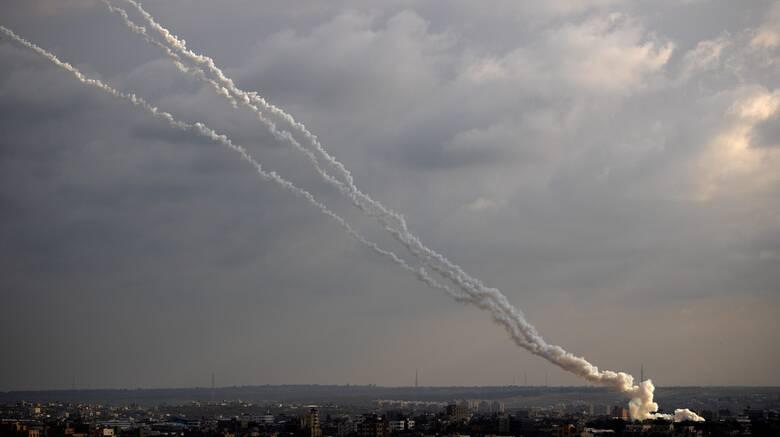 Ισραηλινά αντίποινα μετά την εκτόξευση ρουκέτας από τη Λωρίδα της Γάζας