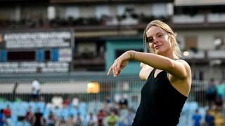 Η κάτοχος του νέου παγκόσμιου ρεκόρ νεανίδων στον ακοντισμό, Ελίνα Τζένγκο, στο Open News