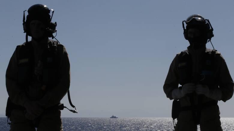 Επιχείρηση «Ειρήνη»: Αποπλέει την Τρίτη η γερμανική φρεγάτα για την Αν. Μεσόγειο