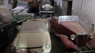 Τατόι: Σε νέο χώρο φύλαξης τα οχήματα της τέως βασιλικής οικογένειας (vids)