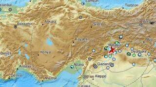 Σεισμός 5,2 Ρίχτερ στην νοτιοανατολική Τουρκία