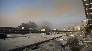 Ισχυρές εκρήξεις στη Βηρυτό: Οι πρώτες εικόνες από την καταστροφή