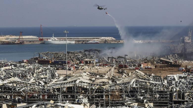 Έκρηξη στη Βηρυτό: Η επόμενη μέρα στο «σημείο μηδέν»