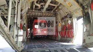 Έκρηξη στη Βηρυτό: Καρέ - καρέ η αναχώρηση της ελληνικής αποστολής βοήθειας