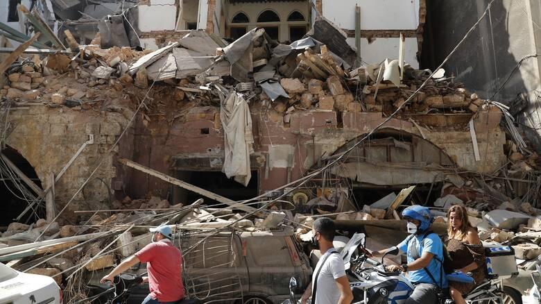 Έκρηξη Βηρυτός: Οι απώλειες στην οικονομία μπορεί να φτάσουν στα 15 δισ. ευρώ