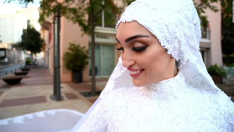 Από την απόλυτη ευτυχία, στην καταστροφή: Το βίντεο μιας Λιβανέζας νύφης τη στιγμή της έκρηξης