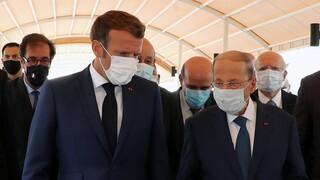 Στην κατεστραμμένη Βηρυτό ο Μακρόν:  Η βοήθεια δεν θα πάει σε «διεφθαρμένα χέρια»