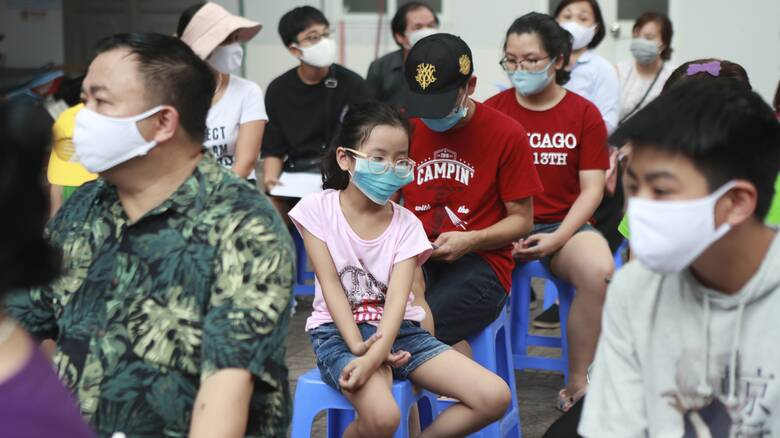 Κορωνοϊός – Βιετνάμ: Σε νοσοκομείο μετατρέπεται γήπεδο εν μέσω έξαρσης του ιού