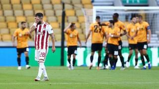 Γουλβς – Ολυμπιακός 1-0: Αποκλεισμός για τους «ερυθρόλευκους» από το Europa League