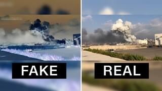 Παραποιημένα βίντεο για την αιτία της έκρηξης στη Βηρυτό κατέκλυσαν τα social media