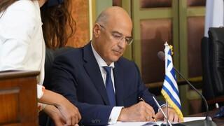 Δένδιας: Εθνικά συμφέρουσα συμφωνία, να μην αποχωρήσει από το διάλογο η Τουρκία