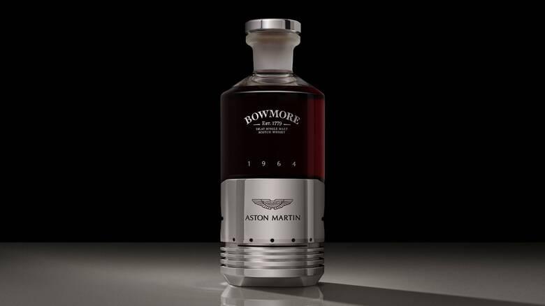 Θα δίνατε μια... περιουσία για ένα μπουκάλι ουίσκι με τα σήματα της Aston Martin;