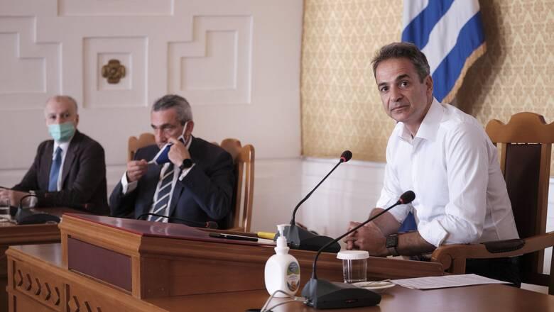 Μητσοτάκης:  Η στήριξη των MMM αποτελεί προτεραιότητα για την κυβέρνηση